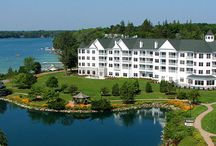 Lakefront / The finest lakeshore setting in southeastern Wisconsin ~ Elkhart Lake's clear water and natural sand bottom, with wonderful resort amenities: watersports, dining, entertainment and more. / by The Osthoff Resort