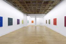 Meg Cranston & John Baldessari-Real Painting (for Aunt Cora) / September 14 - Oktober 26, 2013 Installation View, Galerie Michael Janssen Berlin, 2013