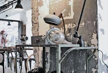 Industrial - Steampunk - Vintage  Design