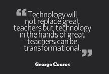 Technology does NOT replace teachers