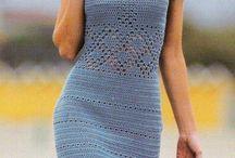 Dresses فستان كروشيه / by Amal Cherourou
