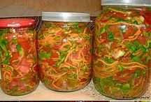 Verduras marinadas