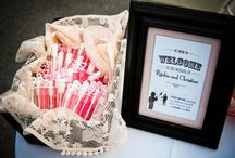 Welcome Table / Welcome Wedding Table Ideas