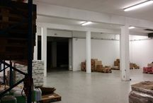 Code No. 7795 For Rent Warehouse  in Agios Athanasios, Limassol / Code No. 7795 For Rent Warehouse  in Agios Athanasios, Limassol, with space area +/-800m2 (covered area), basement +/-800m2 in 1 level, availability now. Featuring covered and uncovered parking, 2 wc and 2 showers, a/c, open plan, false ceiling, light features, security system, cameras, fire alarm, intercom.. With three phase current 100+60kw, the warehouse maximum height 7 meters and minimum height 3 meters, with 2 large gate garage doors, epoxy flooring, lift, 2 freezers. Renting Price: €5000