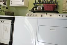 Laundry room decor  / by April Kinzer