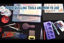 Quilling tools
