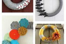 Wreath Ideas / by Jessica Laur