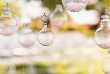 bolle e sfere di vetro