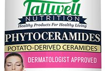 """Phytoceramides - Ultimate Skin Anti-Aging Supplement / Premium Phytoceramides 350mg Plant Derived Ceramides - Ultimate Skin Anti-aging Supplement - 30 Veggie Capsules - Gluten Free - Helps Reduce Fine Lines & Wrinkles - Plus 100% of Vitamins A, C, D, and E - 100% Money Back Guarantee. Phytoceramides, also known as Ceramides are an important """"Lipid"""" which is the building blocks of the structure and function of living cells. Our Premium Phytoceramides help regenerate youthful healthy looking skin. Buy Now at: www.tallwellnutrition.com"""