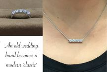 Custom Jewelry / New creations as well as repurposed elements from Carroll's Design Studio