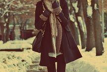Podzimní a zimní outfity