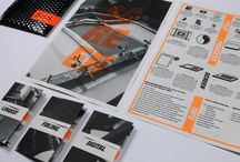 Print design / Brochures / flyers / print / by Michael Toman