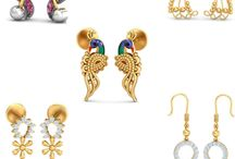 gold earrings / Check out Latest Gold Earrings Collection with Flat 6% off. Use promocode- GOLDEN at the shopping Cart.