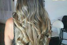 color de cabello.