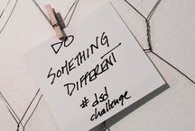 DO SOMETHING DIFFERENT CHALLENGE / Take inspired imperfect ACTION, choose one thing every week that was DIFFERENT and DO IT.  http://www.leahgoard.com/is-it-time-to-do-something-different/