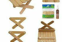 z drevených špachtličiek