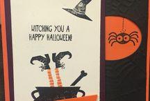 xxx tee hee hee Stampin' Up! Halloween
