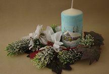 Candles / nami vyrobené sviečky