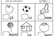 atividades silábico alfabético