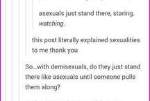 LGBTQIAPD+ and Gender identities (SAGA) / I'm a demi PANtastic PANda :3