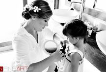 Bride Lauren / getting ready to our beautiful bride make up www.sarahgarnier.com weddings photographer @Fineartstudio