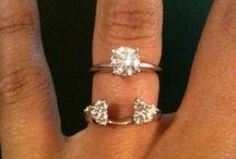 Anelli diamanti cluster / Idee montature anelli