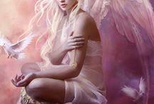 Engel und anderer Wesen