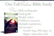 Bible Study / by Gail Anklam