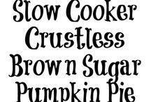 Crock Pot Pie