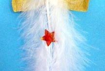 Engel aus federn