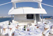 Yacht wedding in Antalya