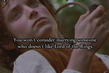 LOTR + The Hobbit / by Breanna Cross