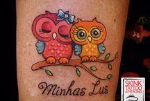 Tattoos / Tatuagens feitas pelo Toni na Skink Tattoo Jardins
