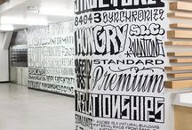 Typography in workspaces