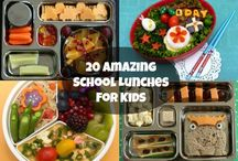 school days / lunch and other fun ideas for school