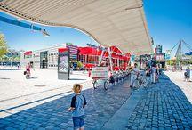 Les Folies de la Villette / Une sélection de nos plus belles photos des œuvres de Bernard Tschumi, l'architecte du Parc de la Villette et de ses célèbres Folies !