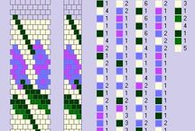 sznury szydełkowo-koralikowe wzory