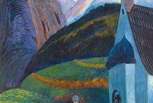 Art - Marianne von Werefkin /  10 September 1860 -   February 1938   country of origin russia