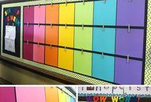 Classroom decoration & Bulletins