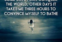 Mental illness vs me