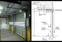 Quick Guide: Low Headroom Sectional and Rolling Door Products for Tight Space Environments / In NJ and New York City, space is a premium.  There are really 3 different ways to do an overhead door or rolling door with low headroom.  I have made a quick guide for my customers.