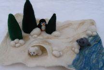 Invierno, Winter, negua / Frío, azul, blanco, nieve, interior... Imágenes que nos inspiran...
