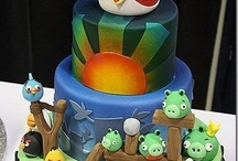 Jakes Angry Birds Bash  / by Jenna Leigh