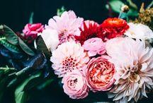 Decoración floral ~ Centerpiece / Encantadores centros de flores para vestir tu boda o evento #centerpiece