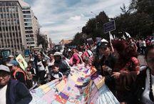 """Colombia: Marcha por la paz y la democracia / """"Mujeres por la Paz"""" toman este viernes las calles de la capital colombiana teniendo en cuenta el artículo 22 de la Constitución Colombiana que reza: """"La paz es un derecho y un deber de obligatorio cumplimiento""""."""