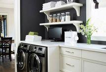 laundry/ bathroom