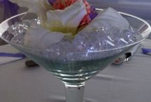 Our Centre Pieces / Examples of some recent centre pieces we have produced for weddings in Essex.