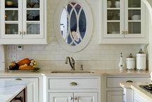 Ideoita uuteen kotiin (keittiö) / Ideakuvia rakenteilla olevan talomme keittiöön.