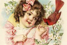 crianças vintage e vitorianas / Imagens vintages e vitorianas de crianças.