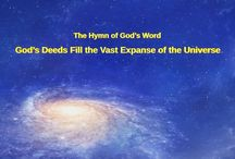 """The Hymn of God's Word """"God's Deeds Fill the Vast Expanse of the Universe""""   Gospel Music"""